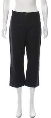 Kenzo Mid-Rise Wide-Leg Pants