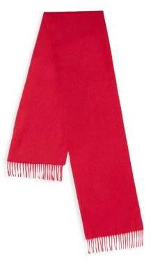 Portolano Cashmere Wool Fringed Scarf