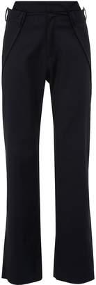 Delada Foldover waist wool unisex pants