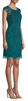 Aidan Mattox Beaded Shift Dress