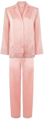 La Perla Silk Powder Pink Silk Pyjama Set