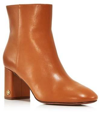 6bdbdd275 Tory Burch Women s Brooke Round Toe Leather Booties