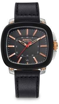 Breil Milano Three-Hand Stainless Steel Watch