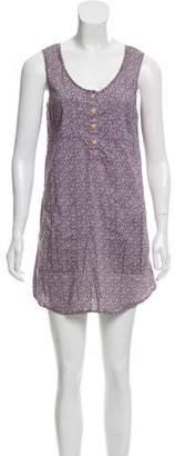 Steven Alan Floral Print Mini Dress