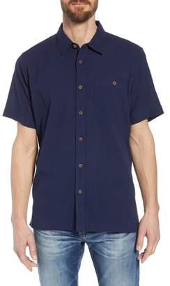 Patagonia 'A/C(R)' Regular Fit Organic Cotton Short Sleeve Sport Shirt