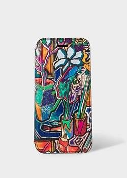 'Artist Studio' Leather iPhone 6/6S/7/8 Wallet Case