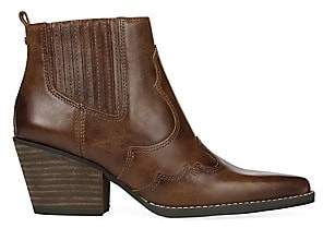 Sam Edelman Women's Winona Wild West Leather Ankle Boots