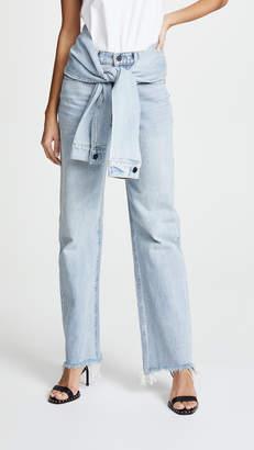 Alexander Wang Denim x Stack Tie Jeans
