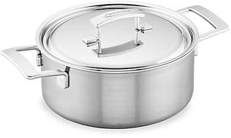 Demeyere 5.5-Quart Stainless Steel Dutch Oven