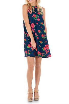 Mud Pie Floral Swing Dress $55 thestylecure.com