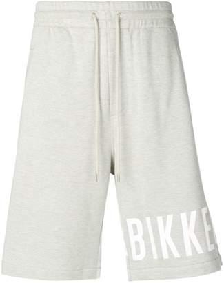 Dirk Bikkembergs logo shorts