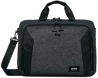 Solo New York Nomad Route 15.6 Slim Briefcase with Shoulder Strap