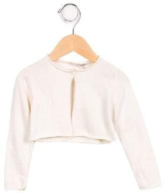 Il Gufo Girls' Wool Button-Up Cardigan w/ Tags