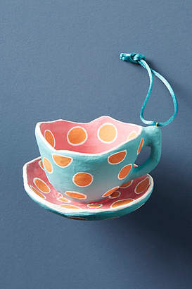Anthropologie Tea Time Ornament