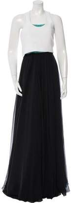 Prabal Gurung Embellished Two-Piece Gown w/ Tags