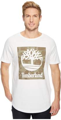 Timberland Short Sleeve Camo Tee Men's T Shirt