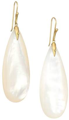 Annette Ferdinandsen Fauna 18K Yellow Gold & Mother-Of-Pearl Simple Bird Drop Earrings