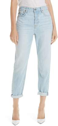 GRLFRND Devon Cuff Boyfriend Jeans