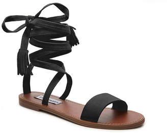 Women's Kaara Flat Sandal -Olive Green $69 thestylecure.com