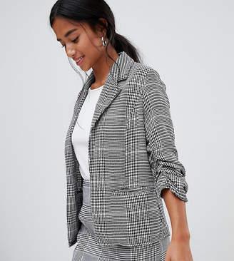 Parisian Petite check blazer