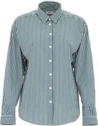 Closed Striped Aloise Shirt