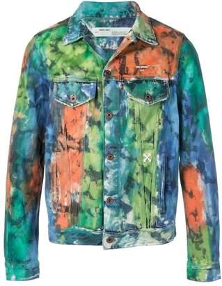Off-White painted denim style jacket