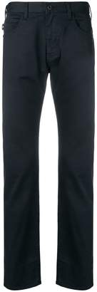 Emporio Armani classic slim-fit trousers