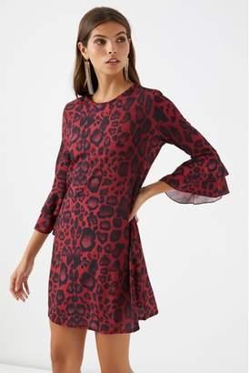 Next Womens Boohoo Animal Print Shift Dress