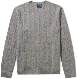 Polo Ralph Lauren Merino Blend Cable Crew Knit