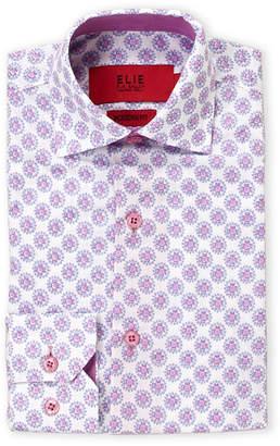 b95c17ff Elie Balleh (Toddler Boys) Circle Print Modern Fit Dress Shirt