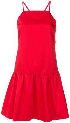 Armani Exchange flared strappy dress