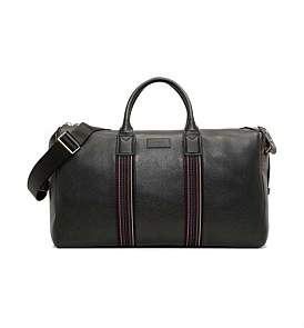 Paul Smith City Webbing Pebbled Leather Holdall Bag