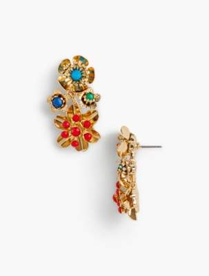 Talbots Wildflower Earrings