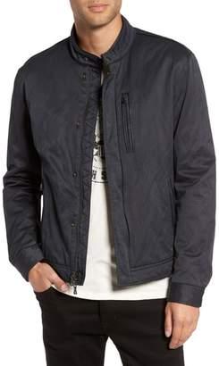 John Varvatos Band Collar Jacket