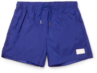 Acne Studios Short-Length Swim Shorts $140 thestylecure.com