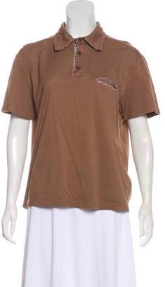 Salvatore Ferragamo Polo Short Sleeve Top