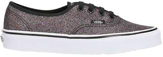 Vans Authentic Black Glitter Sneakers