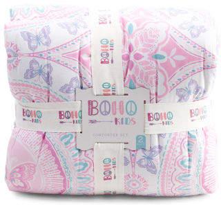 Sana Butterfly Comforter Set