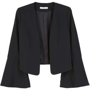 MANGO Flared sleeve blazer