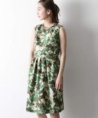 URBAN RESEARCH (アーバン リサーチ) - URBAN RESEARCH COUTURE MAISON 花柄プリントジャガードドレス