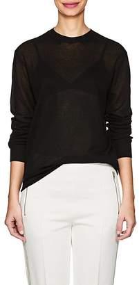 VIS A VIS Women's Semi-Sheer Fine-Gauge Knit Sweater