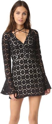 Free People Back to Black Mini Dress $168 thestylecure.com