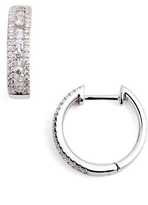 Bony Levy Amara Small Diamond Hoop Earrings