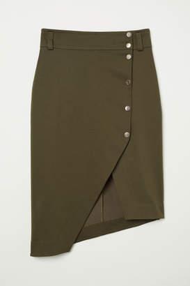 H&M Asymmetric Skirt - Green