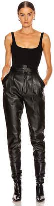 Off-White Off White Belt Swimsuit in Black | FWRD