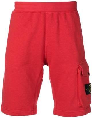 Stone Island patch pocket bermuda shorts