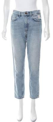 MiH Jeans High-Rise Straight-Leg Jeans