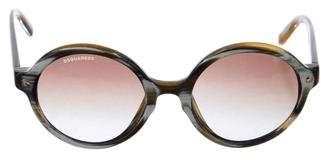 DSQUARED2 Circular Gradient Sunglasses
