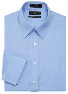 Saks Fifth Avenue BLACK Slim-Fit Cotton Dress Shirt