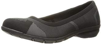 Skechers Women's Career-Quick Comfort Ballet Flat $30 thestylecure.com